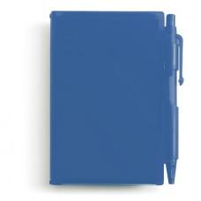 golyóstoll / jegyzettömb fekete betéttel, kék \M-273605\