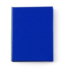 Jegyzettömb karton tartóban, kék \M-801105\