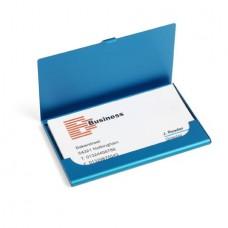 Alumínium névjegytartó, kék \M-876618\