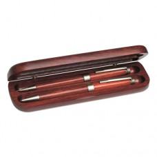 CALIFORNIA rózsafa golyóstoll/töltőceruza készlet \M-812011\