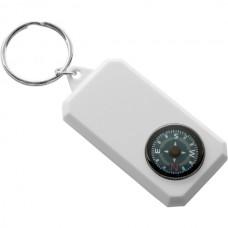 Kulcstartó, iránytűvel, műanyag \M-254002\