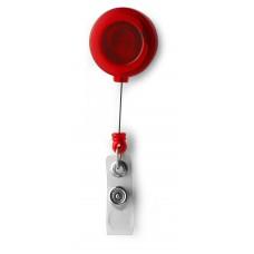 belépőkártya tartó, síbérlet tartó yo-yo piros \M-318208\
