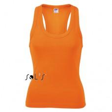 Sol's 11490 coconut női trikó 220 g, orange 400 \11490-400\