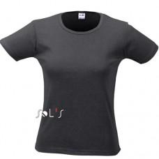 Sol's 11830 lady O női póló, black 312 \11830-312\