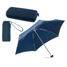 mini automata alumínium esernyő műanyag dobozban, sötétkék \T-0101055\