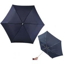 szuper lapos mini teleszkópos esernyő, sötétkék \T-0101140\