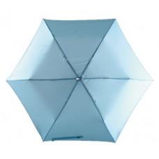 szuper lapos mini teleszkópos esernyő, világos kék \T-0101142\