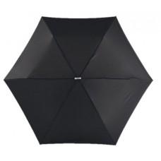 szuper lapos mini teleszkópos esernyő, fekete \T-0101143\