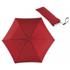 szuper lapos mini teleszkópos esernyő, sötét piros \T-0101144\