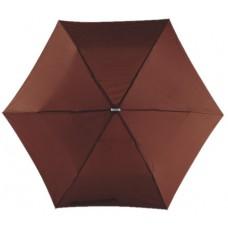 szuper lapos mini teleszkópos esernyő, barna \T-0101145\