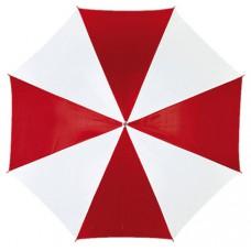 automata esernyő, piros/fehér \T-0103011\