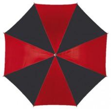 automata esernyő, fekete/piros \T-0103018\
