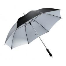 Joker üvegszálas alumínium esernyő, fekete/ezüst \T-0103181\