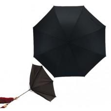 Tornado szélálló esernyő üvegszálas vázzal, fekete \T-0104043\