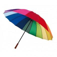 Rainbow sky 16 paneles esernyő, szivárvány 131 cm-es \T-0104053\
