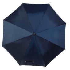 Mobile golf esernyő tokkal, fém nyéllel, dupla erősítésű bordázat sötétkék \T-0104140\