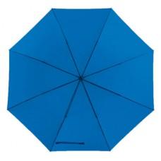 Mobile golf esernyő tokkal, fém nyéllel, dupla erősítésű bordázat középkék \T-0104142\