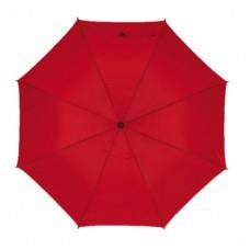 Mobile golf esernyő tokkal, fém nyéllel, dupla erősítésű bordázat sötétpiros \T-0104144\