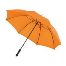 Mobile golf esernyő tokkal, fém nyéllel, dupla erősítésű bordázat narancs \T-0104145\
