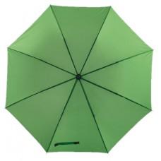 Mobile golf esernyő tokkal, fém nyéllel, dupla erősítésű bordázat v.zöld \T-0104147\