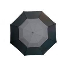 Monsun' üvegszálas golfernyő, fekete / szürke \T-0104173\
