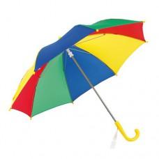 Lollipop gyermek esernyő műanyag fogóval, szívárvány \T-0105009\
