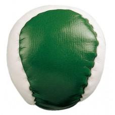 zsonglőrlabda (stresszlabda), zöld/fehér \T-0402104\