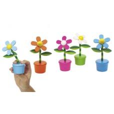 rugós retro játék virág, 4 féle, csak vegyesen rendelhető \T-0501076\
