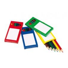 színesceruza készlet 6 db-os 4 féle, vegyesen rendelhető \T-0504090\