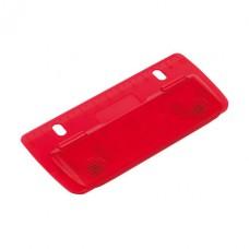 Page mini lyukasztó beépített vonalzóval (12cm), piros \T-1101734\