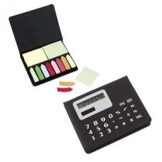 jegyzettömb tartó (post-it) kettős táplálású számológéppel \T-1103020\