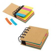 Multi memo kicsi gyűrűs iratgyűjtő színes öntapadós jegyzettömbökkel (post-it) \T-1103137\