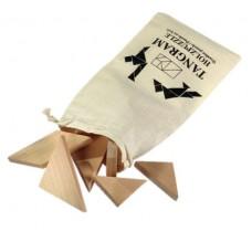 Tangramm puzzle vászon zsákban \T-0501033\