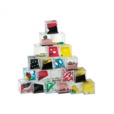 ügyességi játékkészlet (türelemjáték)  24 db/készlet, darabonkénti ár \T-0505040\