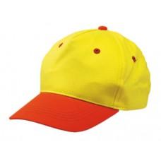 gyermek baseball sapka, sárga/narancs \T-0702125\