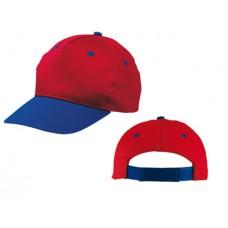 gyermek baseball sapka, piros/kék \T-0702126\